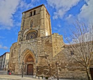 Clouds & church HDR