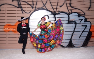 Mexican traditional costume